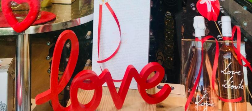 Pour la Saint Valentin découvrer le coffret LOVE de Léoube